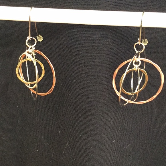 2af6970dc RLM Studio Jewelry | Tricolor Mixed Metal Earrings | Poshmark